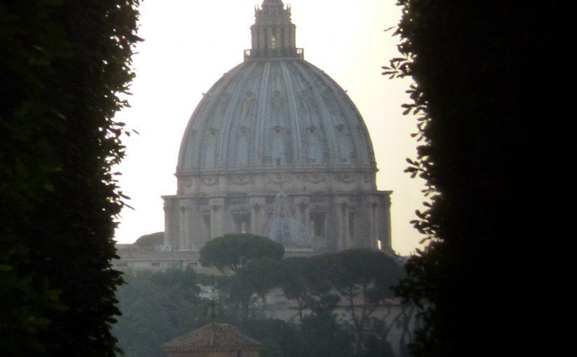 Der Petersdom im Fokus